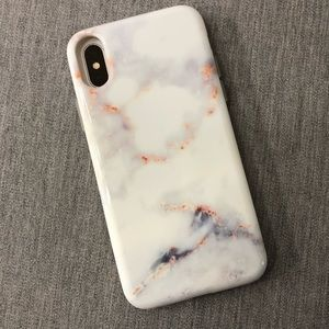 VELVET CAVIAR IPHONE X WHITE MARBLE CASE